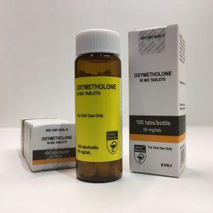 Oxymetholone by Hilma Biocare