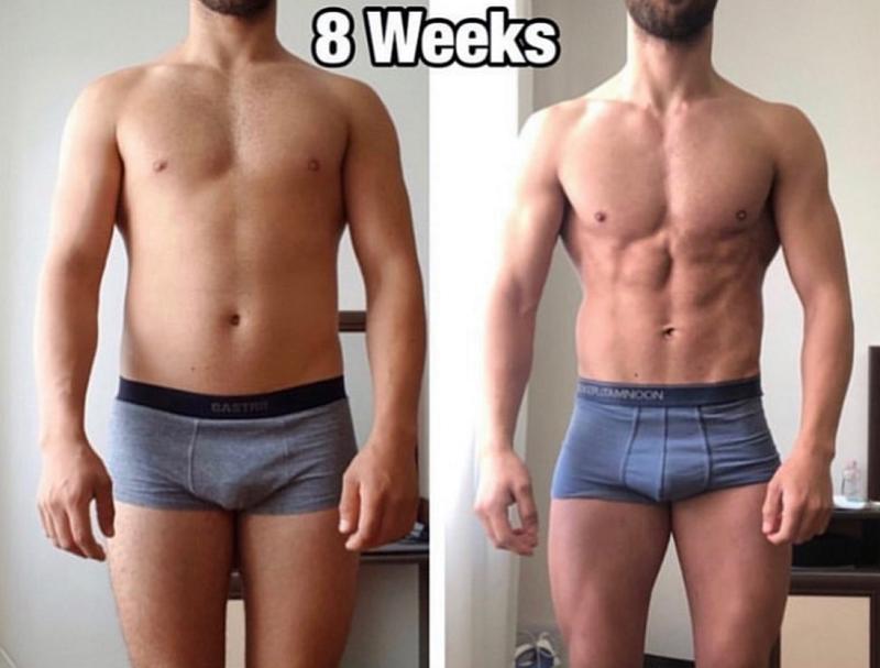 200-mg-Testosterone-Cypionate-Per-Week-transformation